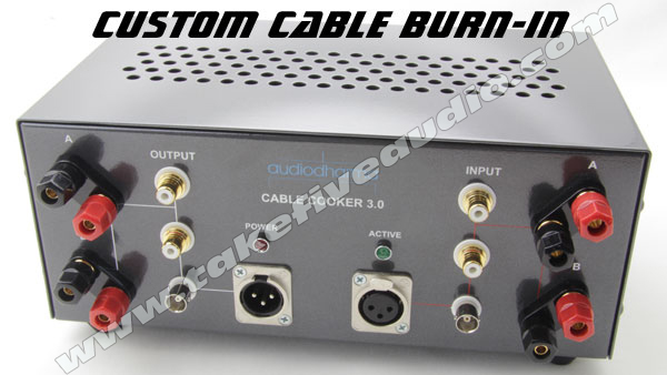 Cable burn-in