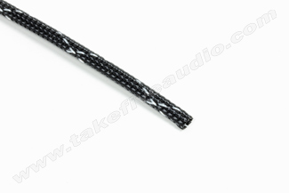 Tight Weave Polyethylene Expandable Cable Sleeve 1/4