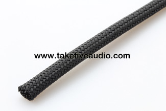 Tight Weave Polyethylene Expandable Cable Sleeve 1/8