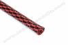 Polyethylene Expandable Cable Sleeve 1/2 Black/Red